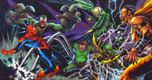 Seks af Spidermans værste fjender slår sig sammen til The Sinister Six.