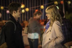 Det slår livlige gnister, når Parker og kærligheden Stacy mødes på et tilfældigt gadehjørne. PR-foto.)