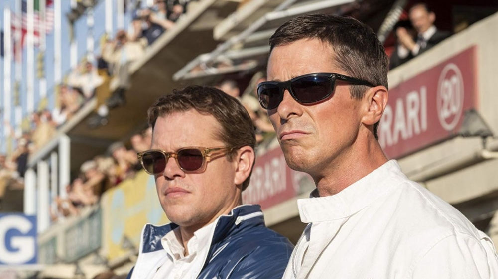 Matt Damon og Christian Bale spiller for første gang sammen i Le Mans '66 (Foto: 20th Century Fox).