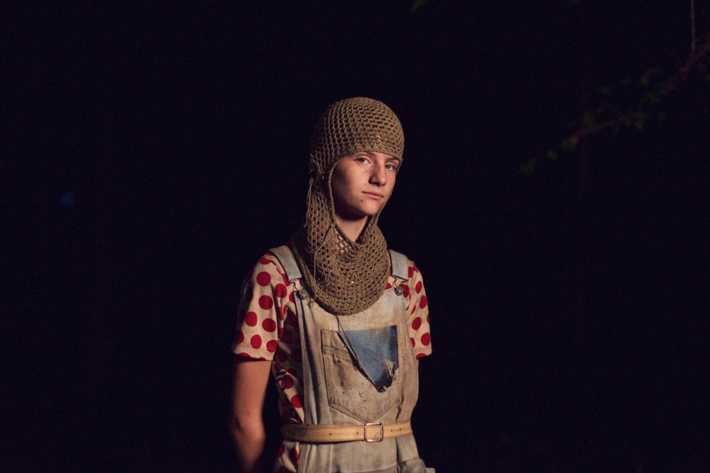 Portrættet af den vilde naturpige Liv er Vivelill Søgaard Holm første filmrolle (Foto: Nordisk Film)