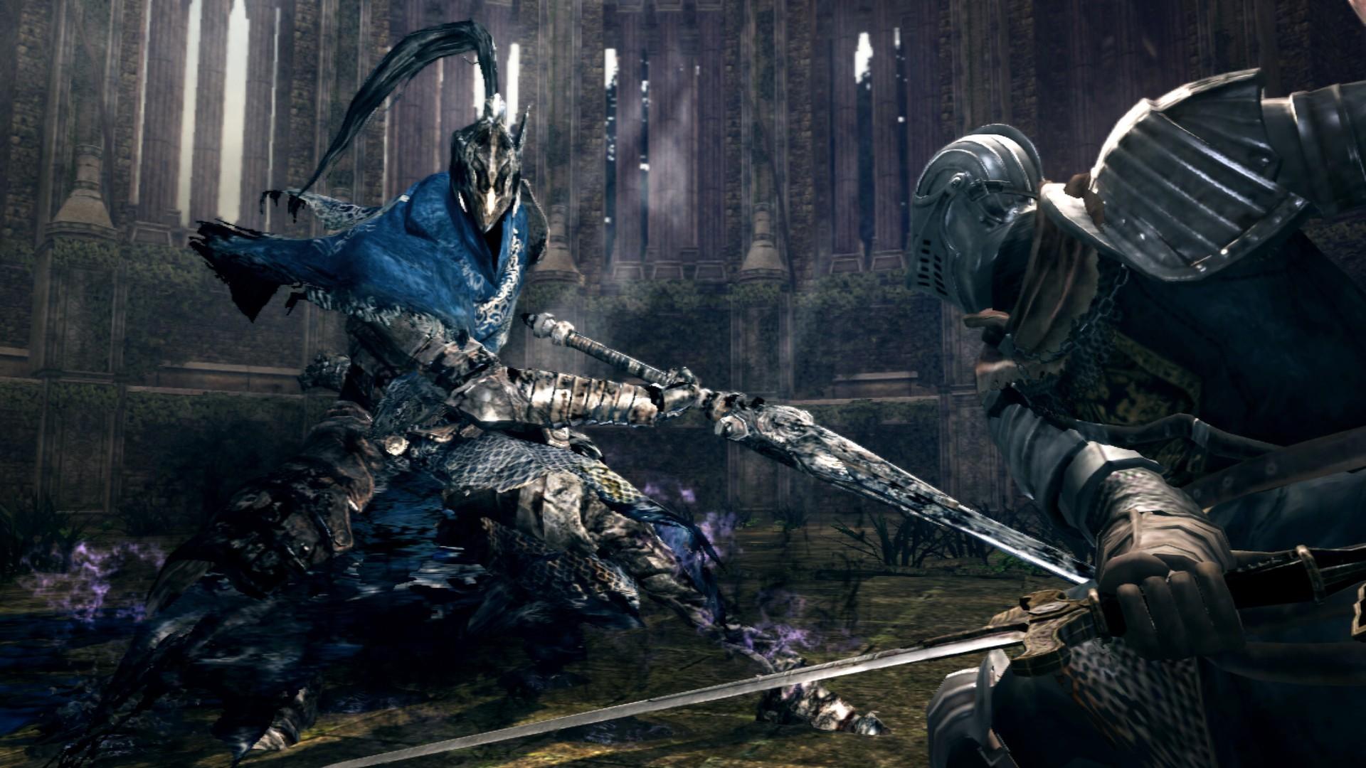 Dark Soulsholder dig ikke i hånden – hverken når det gælder sværhedsgrad eller storytelling. (Foto: Steam)