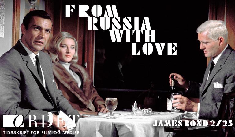 James Bond (Sean Connery) er tilbage i rollen som James Bond med skønne Tatiana Romanova (Daniela Bianchi) ved sin side. Overfor dem sidder Grant (Robert Shaw), som måske ikke helt er at stole på. (Foto: Sony Pictures)