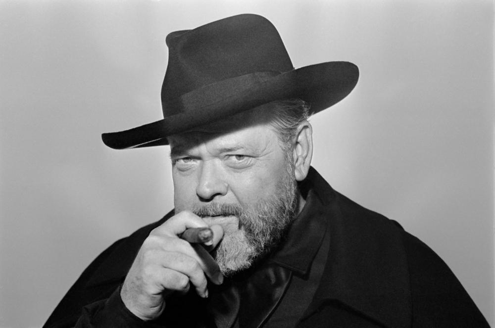Orson Welles og hans cigar. (Foto: Netflix)