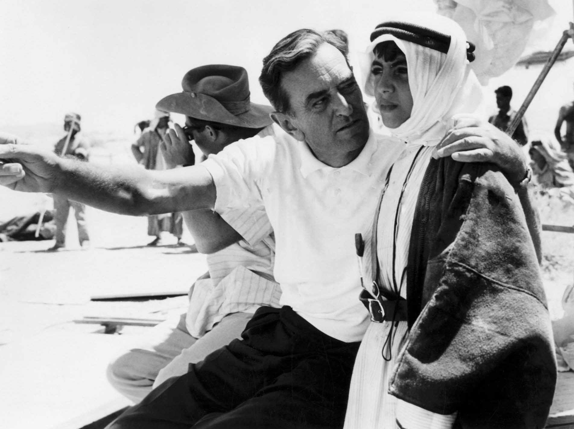 David Lean under optagelserne til Lawrence of Arabia (1962). (Foto: Columbia Pictures)