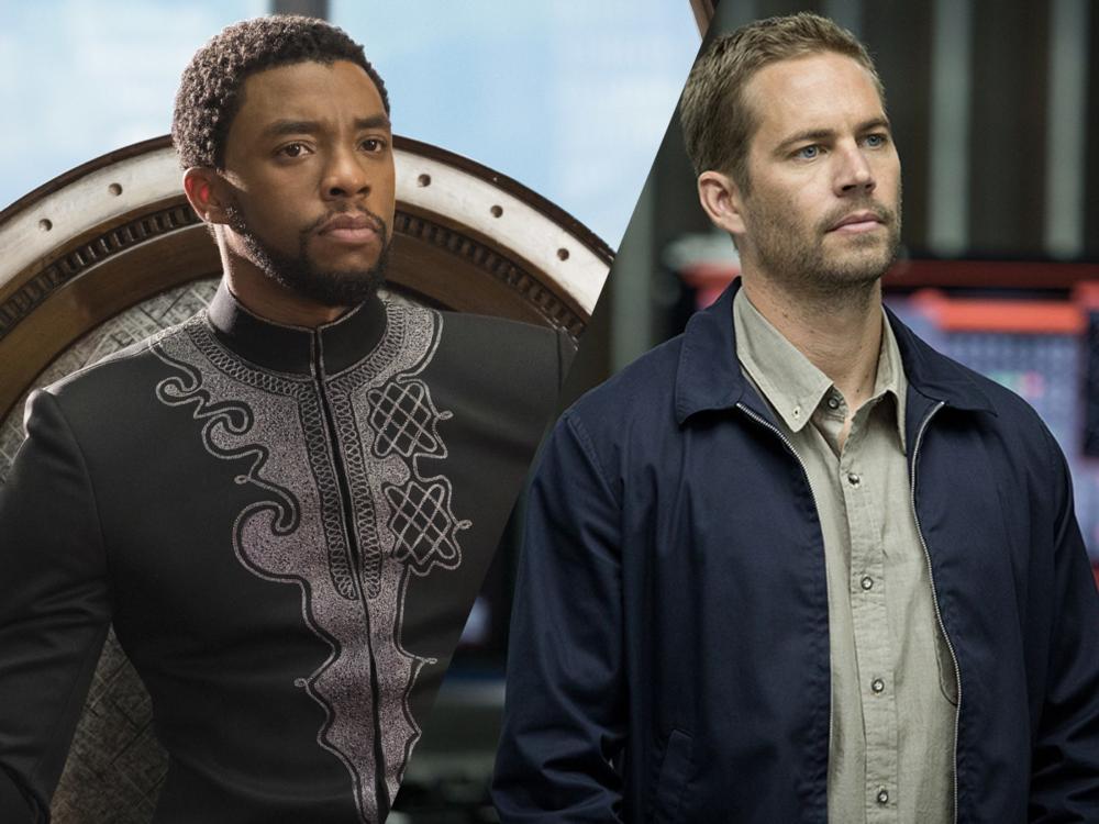 Chadwick Boseman og Paul Walker efterlader sig begge hver deres blockbuster-franchise. Kommer de til at gøre med Black Panther, hvad de gjorde med Fast & Furious? (Fotos: Disney Pictures & Universal Pictures)