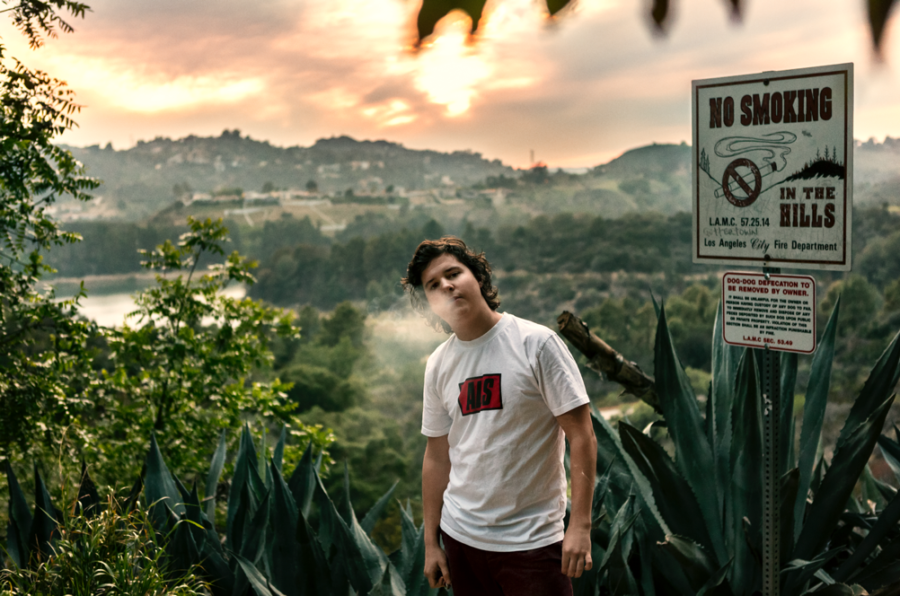 """""""Lukas bevarer sine rødder i Los Angeles. (Foto: René Sascha Johannsen)"""""""